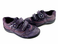 ECCO LITTLE KID'S FANCY OXFORDS NIGHT SHADE LEATHER EUR SIZE 29, US 12-12.5 MED