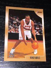 1998-99 Topps BONZI WELLS RC card #205 ~ Portland Trailblazers Rookie ~ F1