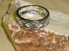 Tsavorit  Silber Band Ring