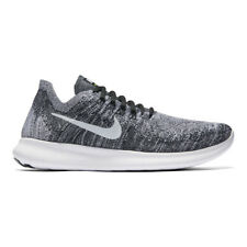 WMNS Nike RN Flyknit 2017 White Black Women Running Shoes 880844-003 UK 6