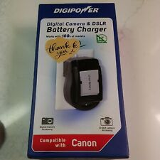 Digital Camera & DSLR Battery Charger Compatible with Canon