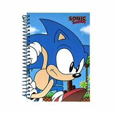 Sonic the Hedgehog A5 Notebook Journal School Exercise Book-Divers Designs