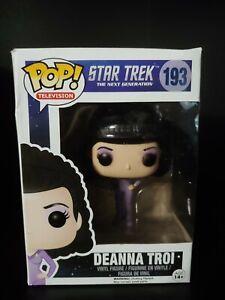 Funko Pop Deanna Troi #193 Star Trek The Next Generation