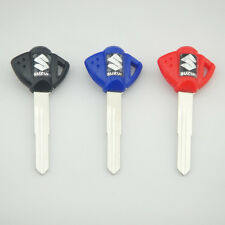 1 Blank Key Uncut For Suzuki GSX GSX-R 600/750/1000/1300 SV650/1000 Motorcycle
