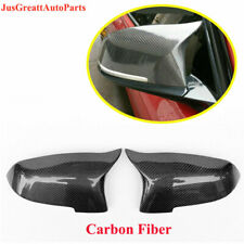 For BMW F10 F06 F12 F02 Carbon Fiber Rearview Mirrors Cover Cap 2014-2016