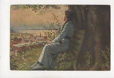 De Witt Nach Der Einsegnung Vintage Art Postcard 151b