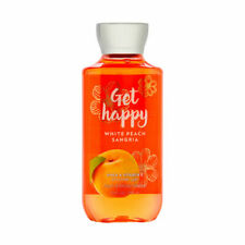 Bath Body Works Get Happy White Peach Sangria 10.0 oz Shower Gel Brand New