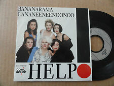 "DISQUE 45T DE  BANANARAMA   "" HELP "" CHANSON DES BEATLES"