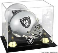 Oakland Raiders Mini Helmet Display Case - Fanatics