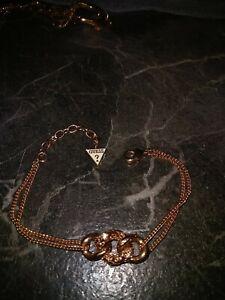 Guess armband damen Rosegold 585