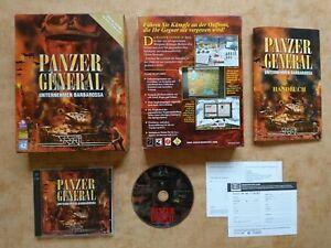 PANZER GENERAL - UNTERNEHMEN BARBAROSSA   PC WIN 95/98   deutsch    USK16 #