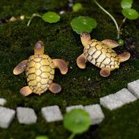 Mini maison de poupée, bonsaï, jardin féerique, paysage, décoration de tortue