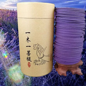 120pcs/box Natural Spiral Incense Coils, Indoor Aromatherapy for Living Room