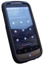 Coque noire pour Nexus One toucher Soft