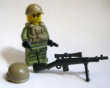 Lego Custom AMERICAN SNIPER Minifigure Brickarms M21 Army Military Combat