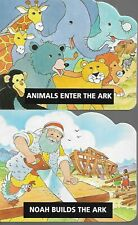 Set of Four Noah's Ark Books