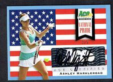 Ashley Harkleroad #NP-AH1 signed autograph 2013 Ace Authentic National Pride 3/5