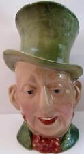 "BESWICK MARKED MICAWBER TITLE DEEDS LARGE TOBY JUG MUG 9"" TALL EXCELLENT CONDTN"
