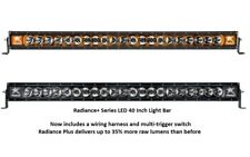"Rigid Industries Radiance Plus with Amber Back-Light LED 40"" Light Bar"