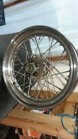 HARLEY SHOVELHEAD OEM 16X3 SPOKE REAR WHEEL W/TIMKEN BEARINGS