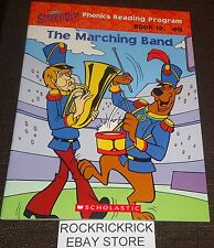 SCOOBY-DOO - THE MARCHING BAND (PHONICS READING PROGRAM) BOOK 10