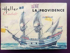 "Rare ! Heller Cadet boîte jaune 1/500 Nef ""La Providence"""