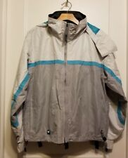Roxy X-Series Women's Snow Ski Snowboard Light Jacket Coat Gray Size M Pre-owned