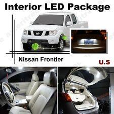 For Nissan Frontier 2005-2014 White LED Interior kit + White License Light LED