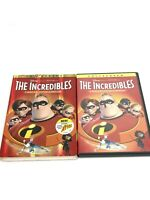 The Incredibles (DVD, 2-Disc Set, Fullscreen, Collectors Edition) Mint Disc