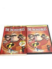 The Incredibles (Dvd, 2-Disc Set, Fullscreen, Collectors Edition) Mint Disc