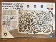 WOODEN CITY® Kinetisches Bild, Kinetic Picture, 3D Holzmodell, Holz Modell Hobby