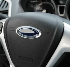 Ford Lenkrad Emblem Chrom Fiesta Focus Max Mondeo Kuga Galaxy ST