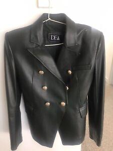 Dea Dark Green Leather Jacket 8