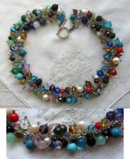 Modeschmuck-Halsketten & -Anhänger aus Edelsteinen für Damen mit Perle