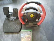 Thrustmaster Ferrari 458 Spider Racing Wheel Xbox One  with game