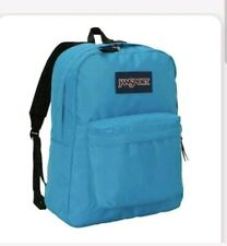 JanSport Superbreak Backpack/Bookbag/Bag   1550 cu.in. Blue Crest