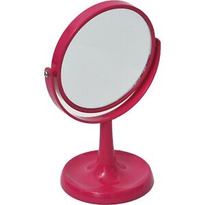 Magnifying Dual-Sided Vanity Mirror free standing with Base for Jewelry …