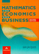 Mathematics For Economics And Business by Ian Jacques (Paperback, 1995)