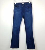 True Religion Women's Junior's Size 26 Jeans Becca Boot Cut Mid Rise Stretch
