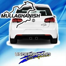 "Mullaghanish Sticker ""Nurburgring Style"""
