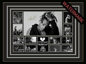 XXXTentacion - LIMITED EDITION SIGNED & FRAMED MEMORABILIA - BAD VIBES FOREVER