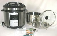 COSORI CP016-PC Premium 8-in-1 Multi-Function Pressure Cooker, 6 Quart, Steel