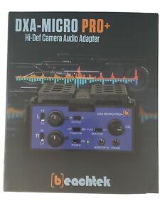 Dxa-micro Pro+ Hi-def Camera Audio Adapter