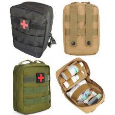 Tactical Kit de primeros auxilios EDC de supervivencia al aire libre Bolsa Molle EMT IFAK Medic Funda