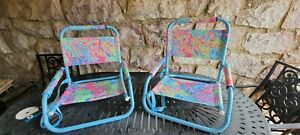 Lilly Pulitzer Beach Chairs