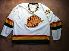 1990/91 CCM NHL HOCKEY VANCOUVER CANUCKS REPLICA HOME JERSEY SWEATER 20 YEARS