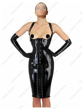 035 Latex Rubber Gummi Corset Dress lace up binder customized 0.7mm suit string