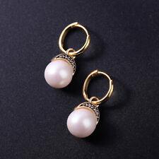 Breakfast at Tiffany's The Great Gatsby White Pearl Elegant 20's Earrings