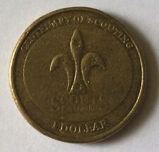 Australian One Dollar coin year 2008 Centenary of Scouting Collectable