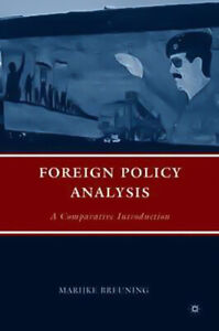 Foreign Policy Analysis: A Comparative Introduction - Social Sciences Book